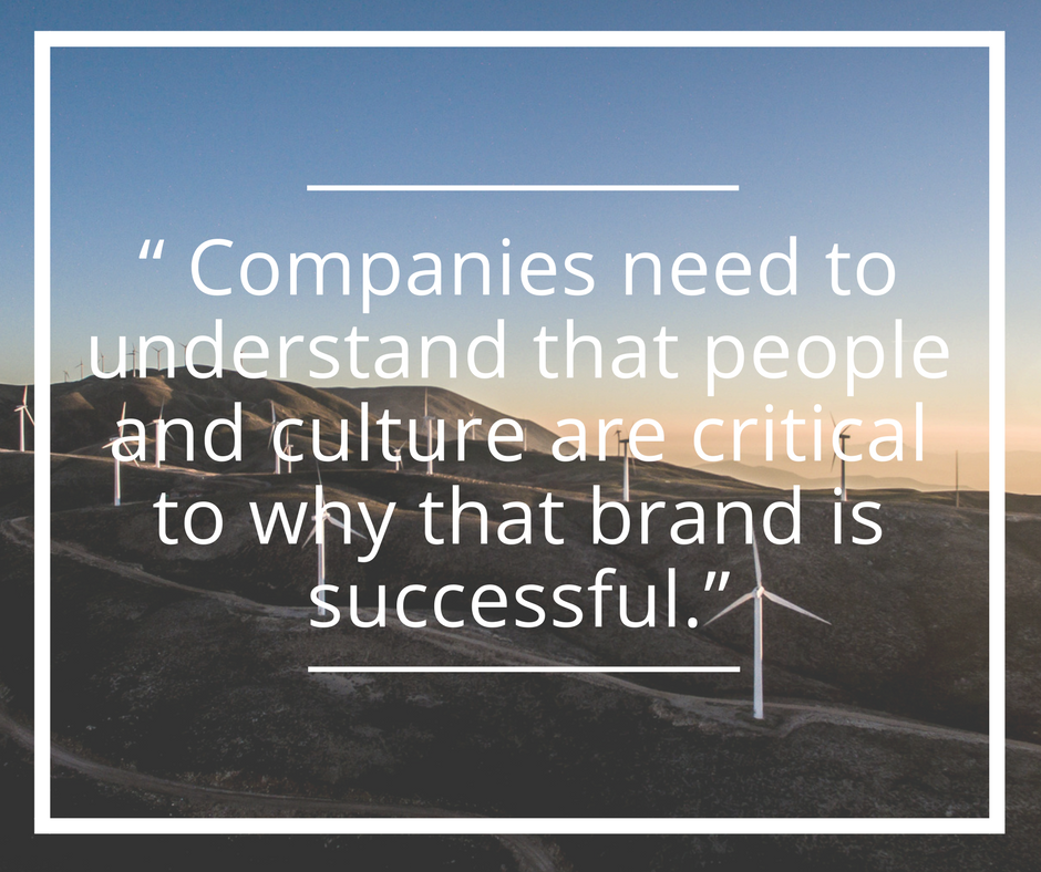 Culture is critical to brand success