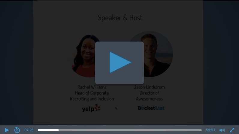 Rachel Williams & Jason Lindstrom Webinar Thumbnail